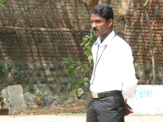 Kalleda PE teacher Raju S