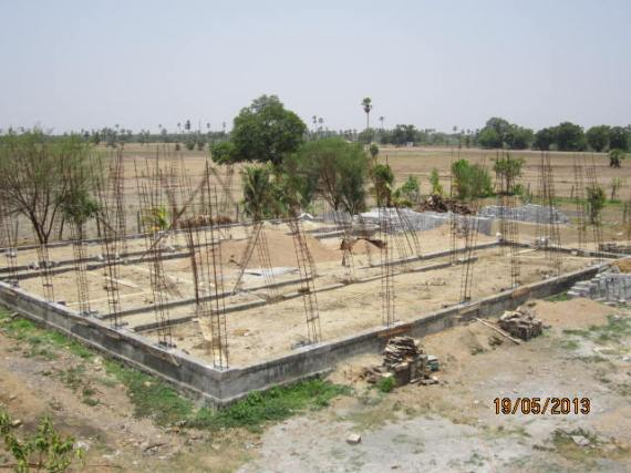 Boys hostel under contstruction