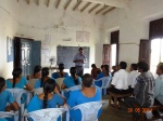 Telengana Govt State Resource person leading a session