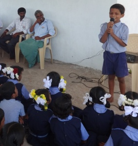 Pavan, addressing his peers and parents