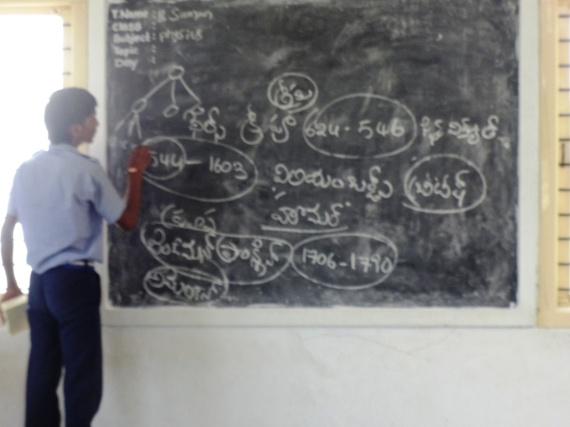 Harish, in a Physics teaching session