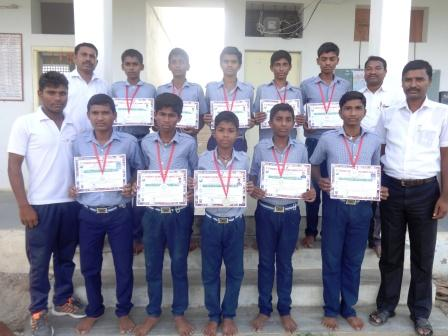 The proud RS Sports achievers