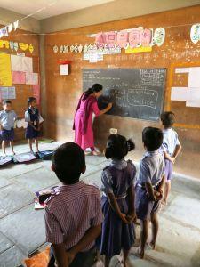 Teaching demo session by SO teacher for Primary teachers